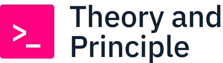 Theory and Principle logo